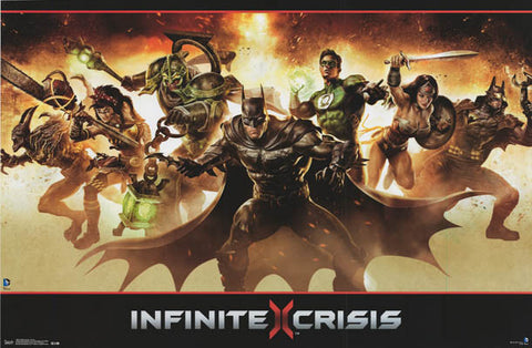 Infinite Crisis Video Game Poster