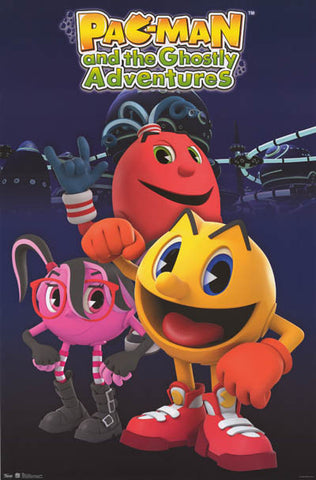 Pac-Man Ghostly Adventures Poster