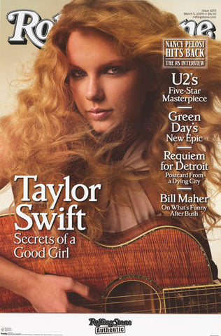 Taylor Swift Rolling Stone Magazine Poster