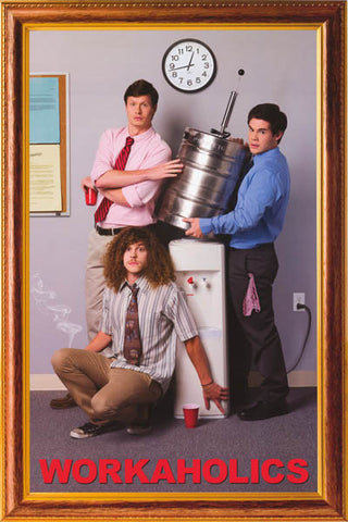 Workaholics TV Show Cast Poster