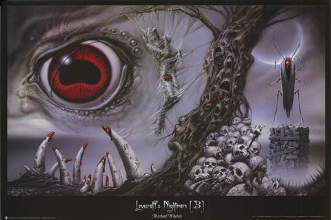 Michael Whelan HP Lovecraft Nightmare Poster