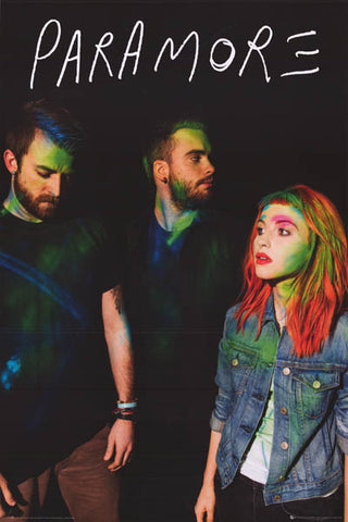 Paramore Album Cover Hayley Williams Group Music Poster 24x36