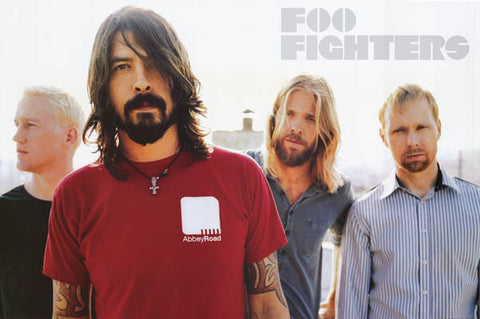 Foo Fighters Band Poster