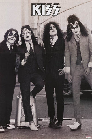 KISS Dressed to Kill Poster