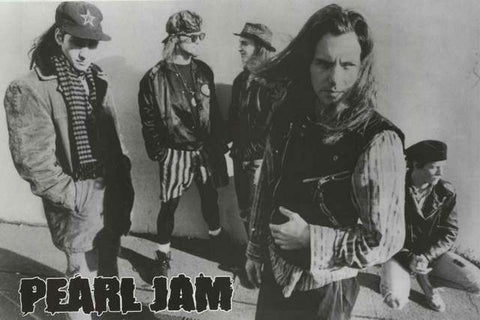 Pearl Jam Band Poster