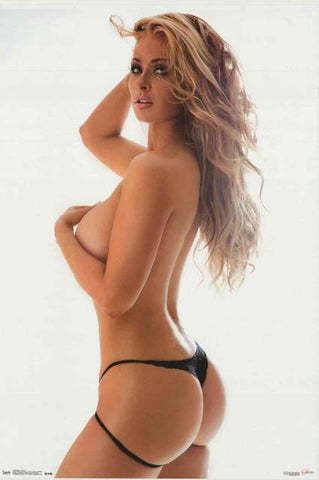 Kelly Knox Sexy Thong Satio Photography Poster 22x34