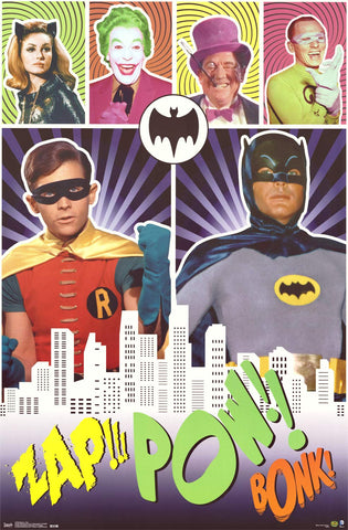 Batman and Robin Classic TV Show Poster 22x34
