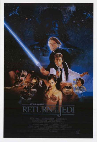 Star Wars Return of the Jedi Movie Poster