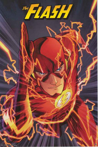 The Flash DC Comics Poster