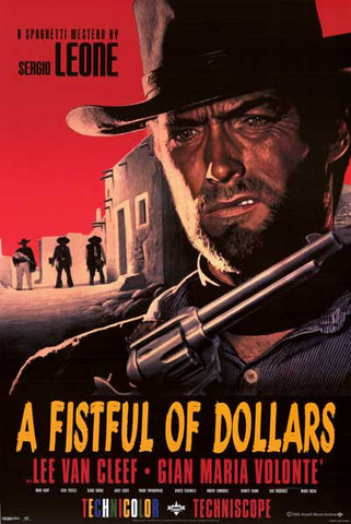 Fistful of Dollars Movie Poster