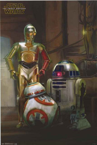 Star Wars Droids Poster