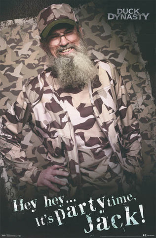 Duck Dynasty TV Show Poster