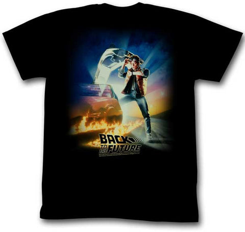 Back to the Future Marty McFly Slim T-Shirt