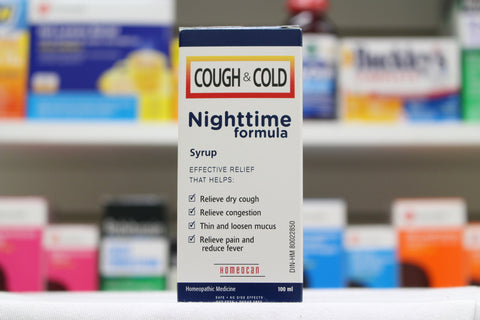 Homeocan Cough & Cold Nighttime Formula