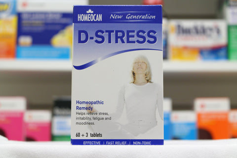 D-Stress Tablets (Homeocan)