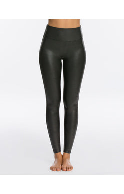 SPANX-Faux Leather Legging