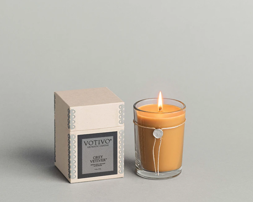 Votivo Candles- Smoked Wood and Amber