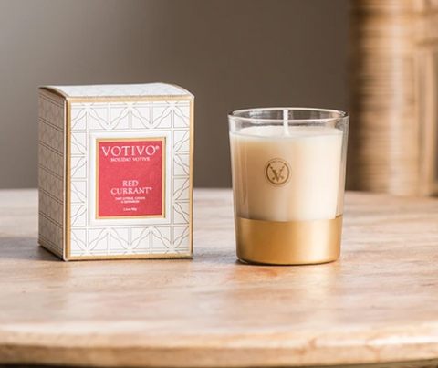 Votivo Candles- Red Currant Candles