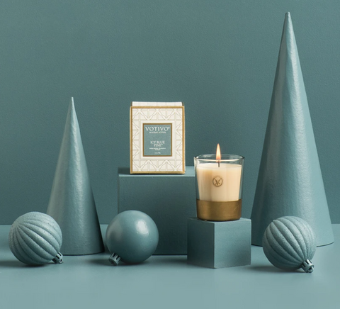 Votivo Candles- Icy Blue Pine