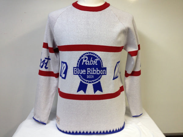 Pabst Blue Ribbon K2 Beer Sweater XL