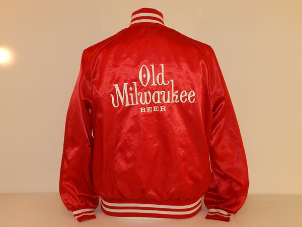 Vintage Old Milwaukee Beer Jacket