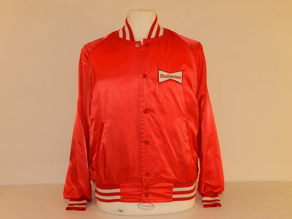 Vintage Budweiser Beer Coaches Jacket