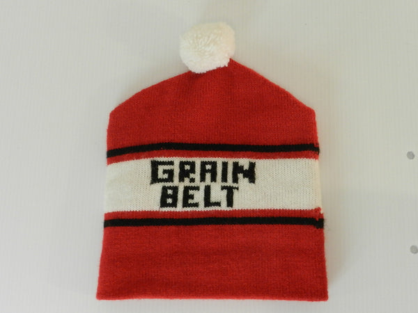 Vintage Grain Belt Winter Hat