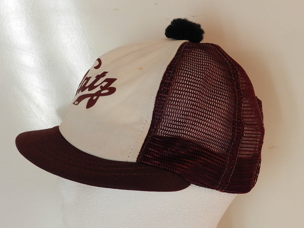 Vintage Blatz Golf Snapback Shorty Hat