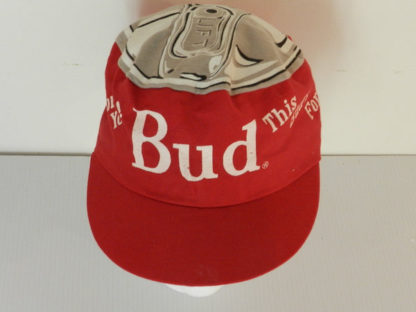 Vintage Budweiser Shorty Can Top Hat