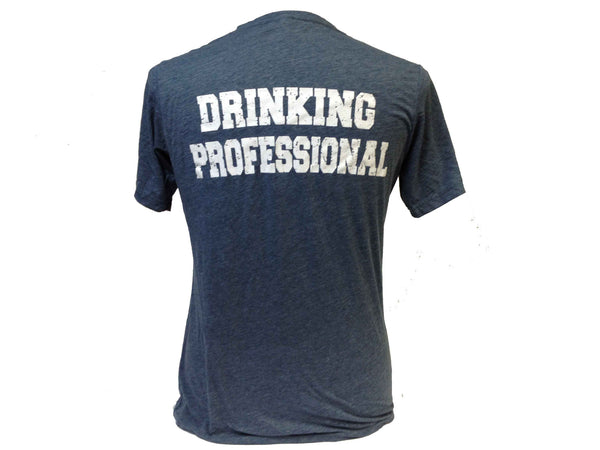 Drinking Pro Shirt With Vintage Old Style Badge