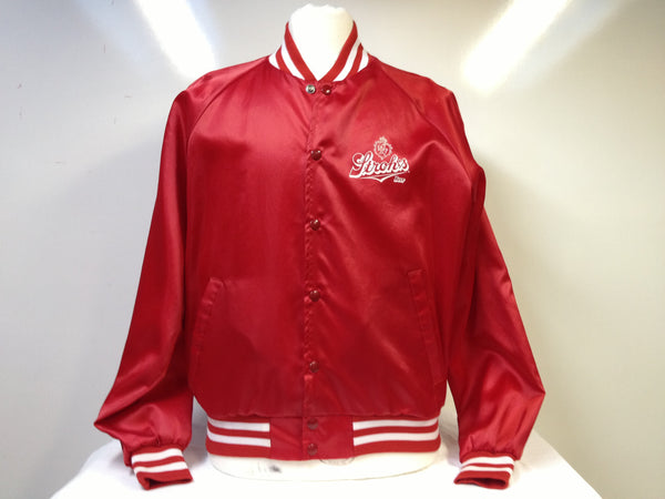 Vintage Strohs Beer Jacket XL