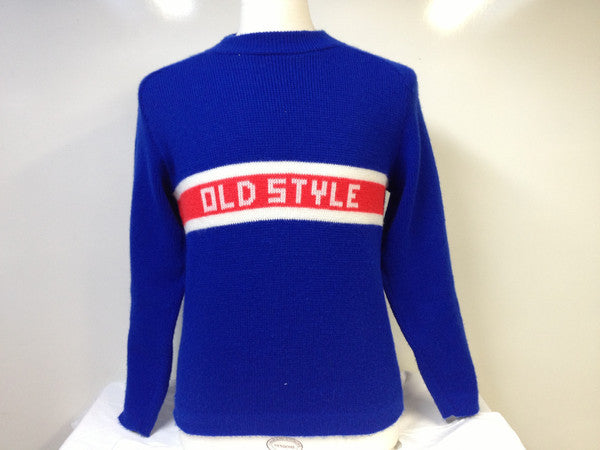 Vintage Old Style Beer Sweater Large