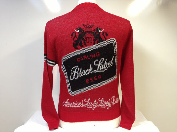 Vintage Black Label Sweater Medium
