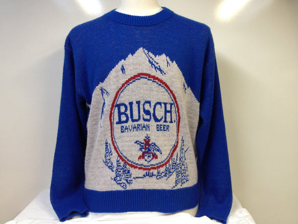 Vintage Busch Beer Sweater