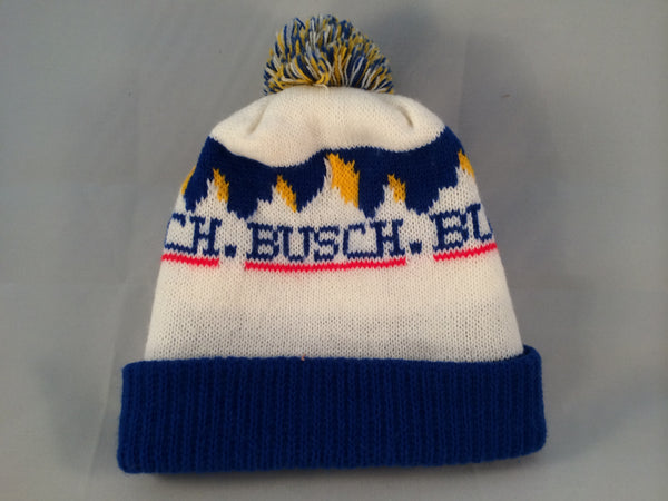 Vintage Busch Winter Hat With Pom Pom