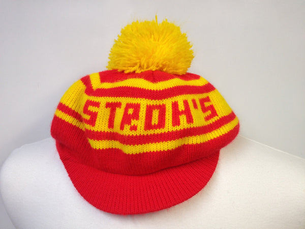 Vintage Strohs Winter Golf Hat