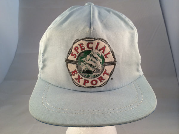 Vintage Special Export Light Blue Snapback Hat