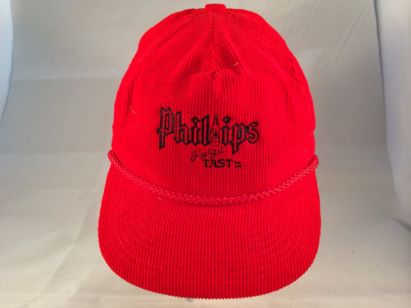 Vintage Phillips Vodka Corduroy Snapback Hat