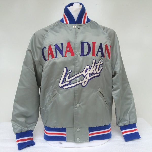 Vintage Molson Canadian Light Beer Coaches Jacket