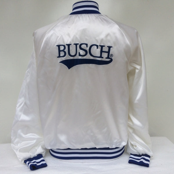 Vintage Busch Beer Coaches Jacket L