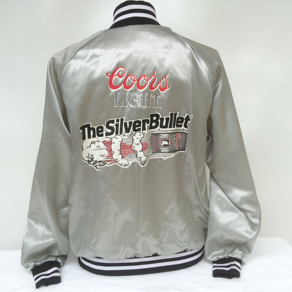 Vintage Coors Light Silver Bullet Jacket
