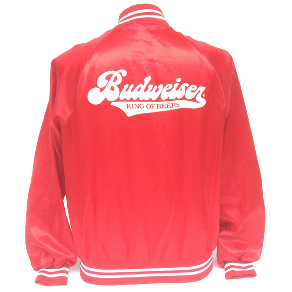 Vintage Budweiser GO RAZORBACKS Coaches Jacket
