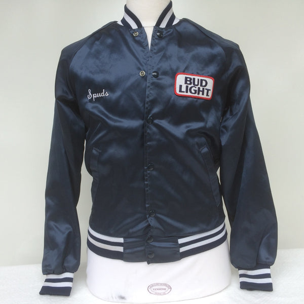 Vintage Bud Light Beer Coaches Jacket S