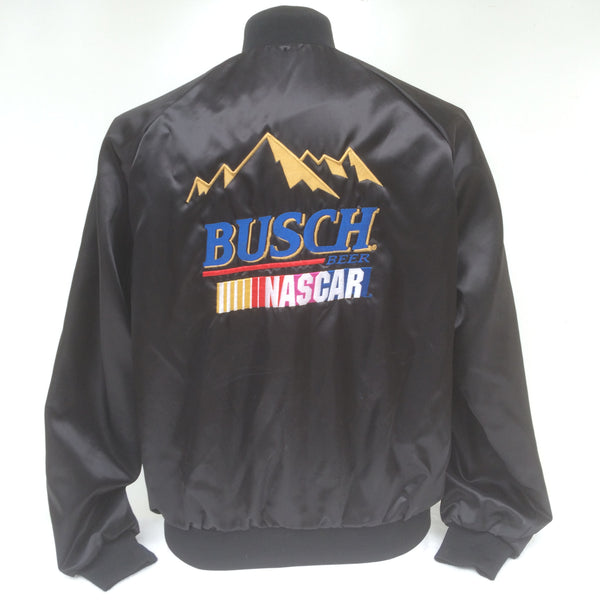 Vintage Busch Beer Nascar Coaches Jacket