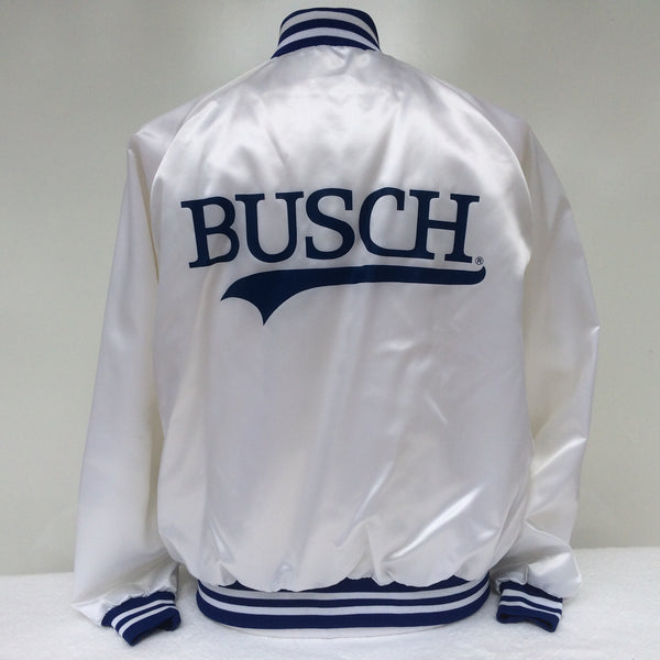 Vintage Busch Beer Coaches Jacket XL