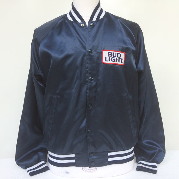 Vintage Bud Light Beer Coaches Jacket M