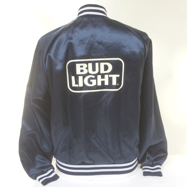 Vintage Bud Light Beer Coaches Jacket L