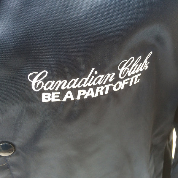 Vintage Canadian Club Whiskey Coaches Jacket