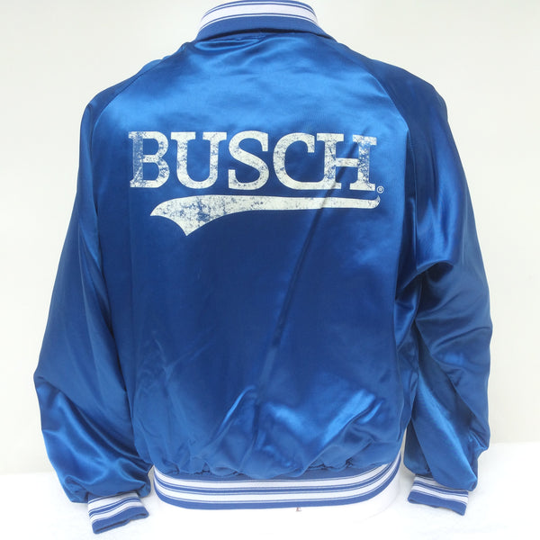 Vintage Busch Beer Coaches Jacket