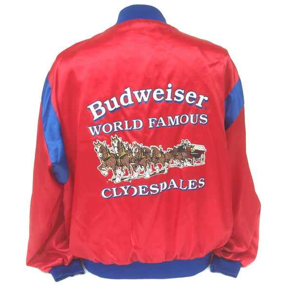 Vintage Budweiser Clydesdales Beer Coaches Jacket
